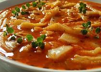 Dršťková polévka s bramborami