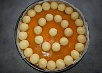 Nepečený meruňkový dort