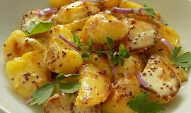 Smetanové brambory z pánve