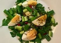Turecký vajíčkový salát