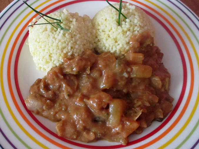 Domoda - africký zeleninový guláš