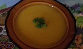 Dýňová polévka s bramborami