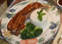 Flank steak v BBQ omáčce