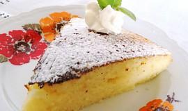Horký mléčný koláč