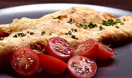 Kimchi omeleta