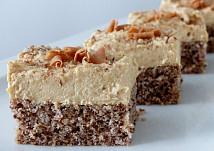 Ořechovo-karamelové řezy