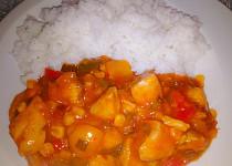 Čína wok s jasmínovou rýží