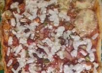 Domácí hrnečková pizza