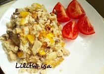 Květákový pekáček s tofu a žampiony (Dukanova dieta)