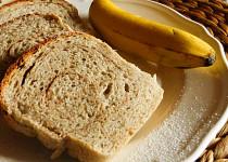 Banánový chlebíček se skořicí (kynutý)