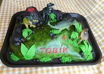 Dort  dinosauři pro vnuka Tobíka