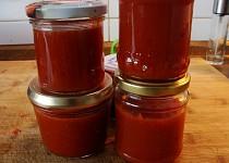 Jednoduchá šípková marmeláda