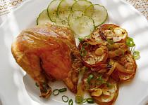 Kuře pečené na mřížce