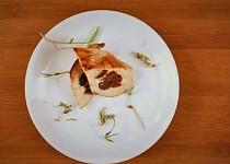 Kuřecí prsíčko plněné ricottou a sušenými rajčaty