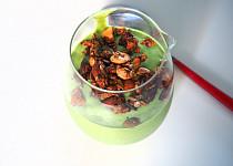 Mangovo-špenátové smoothie