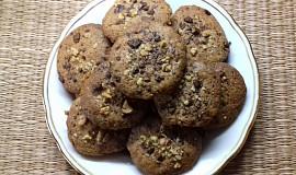 Oříškovo - čokoládové sušenky