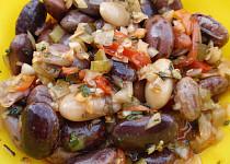 Fazolový salát se zeleninou - zdravě a chutně