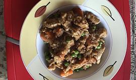 Kuřecí čína s jasmínovou rýží