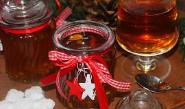 Vánoční sirup na grog i svařené víno
