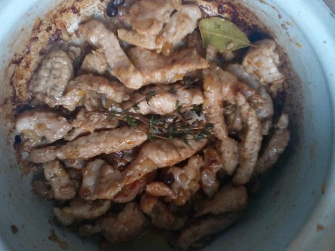 Vepřové maso s celerem