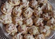 Jednohubky / chlebíčky s tresčími játry