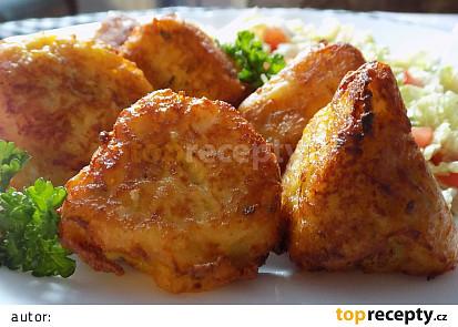Květák v bramborovo-sýrovém těstíčku