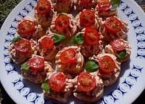 Pomazánka (nejen) se sušenými rajčaty