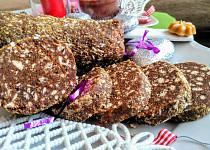 Vánoční tlačenka z karamelových sušenek
