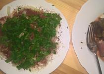 Cibulový salát se sumachem