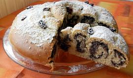 Točený koláč s mákem