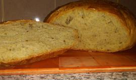 Chléb ze sypkého seitanu