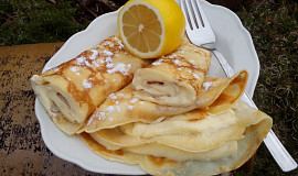 Citronové / pomerančové palačinky