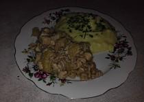 Medové kuřecí s ananasem