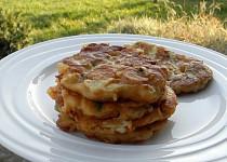 Placičky z bramborové kaše se sýrem a masem