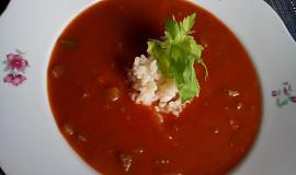 Rajská polévka s řapíkatým celerem