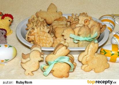 Špaldové citronové sušenky
