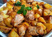 Výpečky s pečeným bramborem aneb 2 v 1