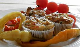Bramborové muffiny se zeleninou