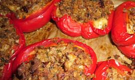 Papriky plněné trochu jinak - při netloustnutí