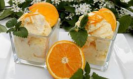 Pomerančová zmrzlina