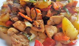 Směs brambory, maso, zelenina (bez tuku)