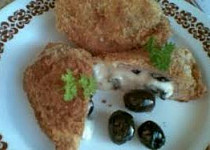 Sýrové řízky s olivami