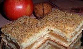 Víkendový jablečný koláč  - vláčný