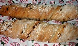 Ždímaný cibulový chléb