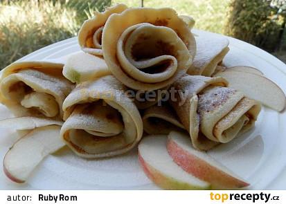 Jablkové lívance