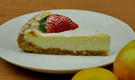 Lehký tvarohový koláč