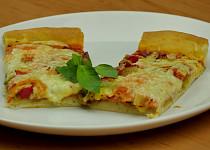 Pizza bez droždí