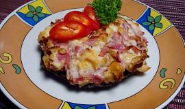 Portobello s uzenou mozzarellou
