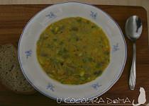 Hutná zeleninová polévka s hlívou a majoránkou
