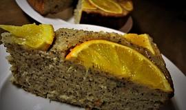 Obracený pomerančový koláč